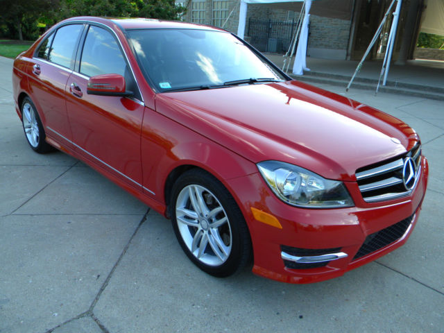 2014 mercedes benz c300 4matic sport sedan 4 door 3 5l lease transfer option. Black Bedroom Furniture Sets. Home Design Ideas
