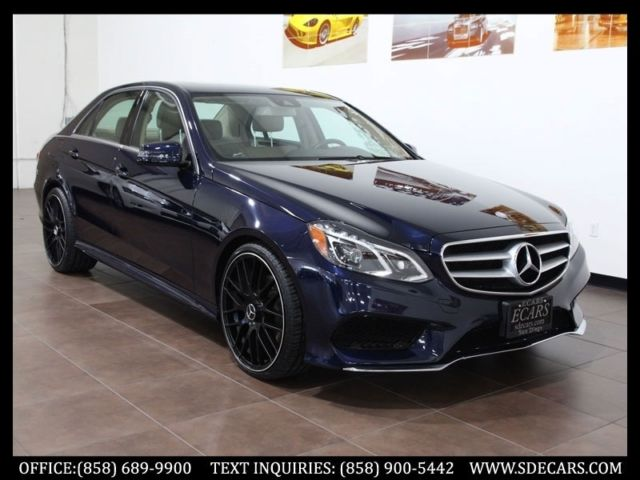 2014 mercedes benz e350 sport navigation full led lights custom wheels. Black Bedroom Furniture Sets. Home Design Ideas