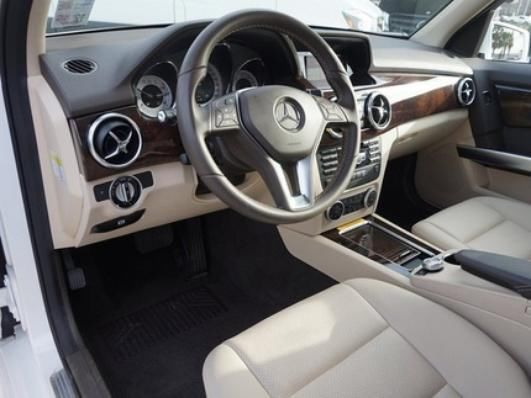 2014 Mercedes Benz Glk350 White With Almond Beige Interior