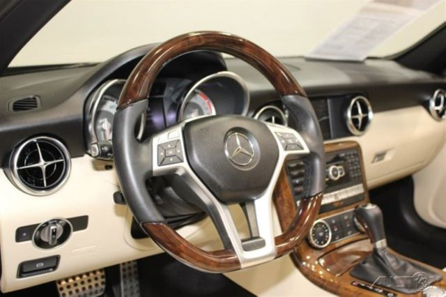 2014 Mercedes Benz Slk Slk Convertible W Glass Top Rwd