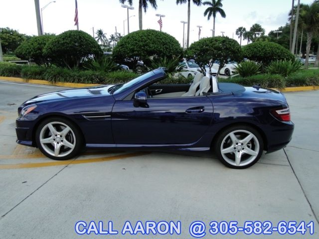 2014 mercedes benz slk250 roadster l k only 691 miles for Mercedes benz hardtop convertible 2014