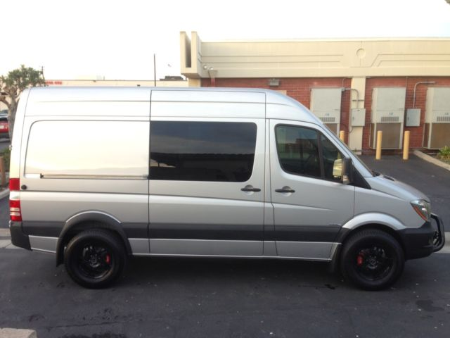 2014 mercedes benz sprinter 2500 crew van 144 in wb high roof custom. Black Bedroom Furniture Sets. Home Design Ideas