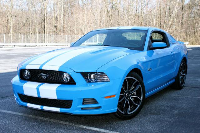 2014 Mustang Gt Premium Grabber Blue Navigation Comfort 3