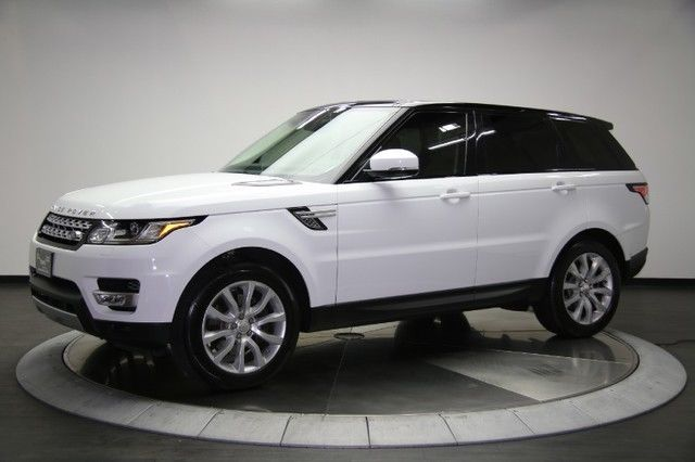 2014 Range Rover Sport Hse Pano Roof Black Roof Loaded