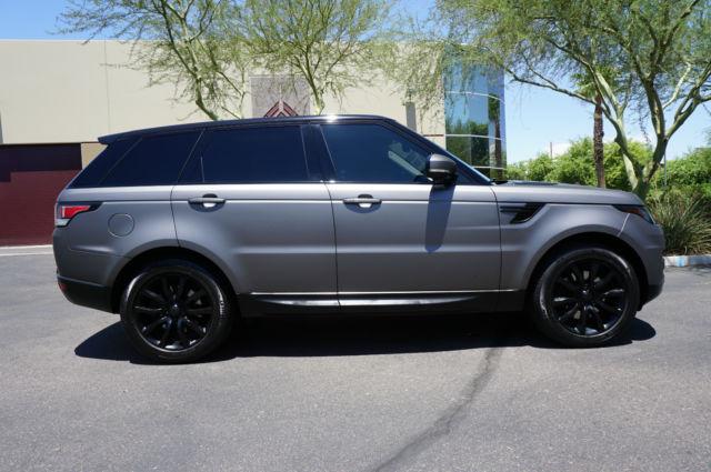 2014 Range Rover Sport Matte Black Hse Clean Carfax Lik 2010