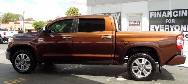 Flex Fuel Cars >> 2014 Toyota Tundra 4WD Truck Platinum 40216 Miles Sunset Bronze Mica Crew Max 8