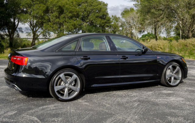 2015 Audi A6 30 Turbo Quattro Prestige Black Optic Sport Package