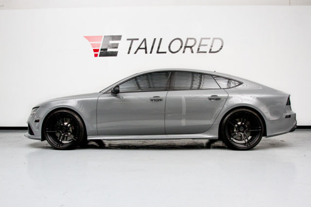 2015 Audi Rs7 Nardo Grey Apr Tuned Adv1 Wheels Custom Exhaust
