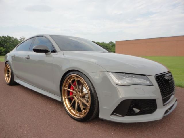 2015 Audi Rs7 Rs 7 4 O Turbo Fast 126k Msrp Nardo Grey Clean Carfax