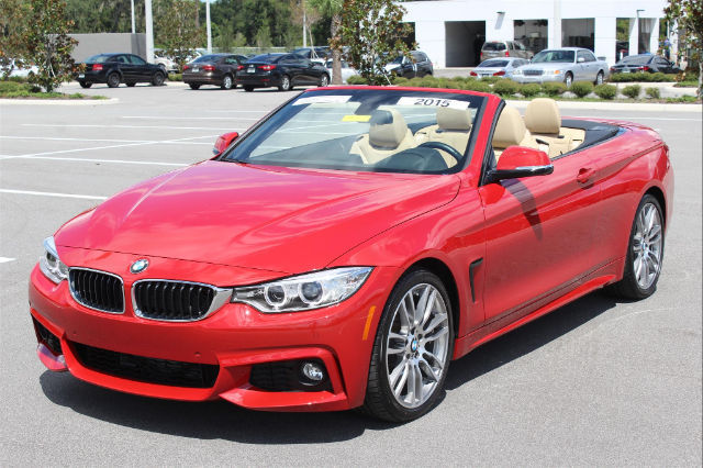 2015 Bmw 428i I 9236 Miles Melbourne Red Metallic Convertible 2 0l 4 Cyls Automa