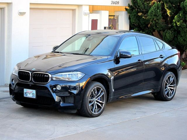 2015 Bmw X6m 3033 Miles Carbon Black Aragon Executive