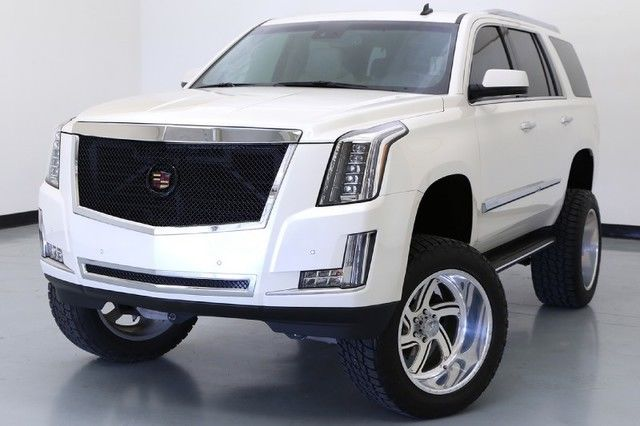 2015 cadillac escalade luxury custom lift kit 22in american force lifted. Black Bedroom Furniture Sets. Home Design Ideas