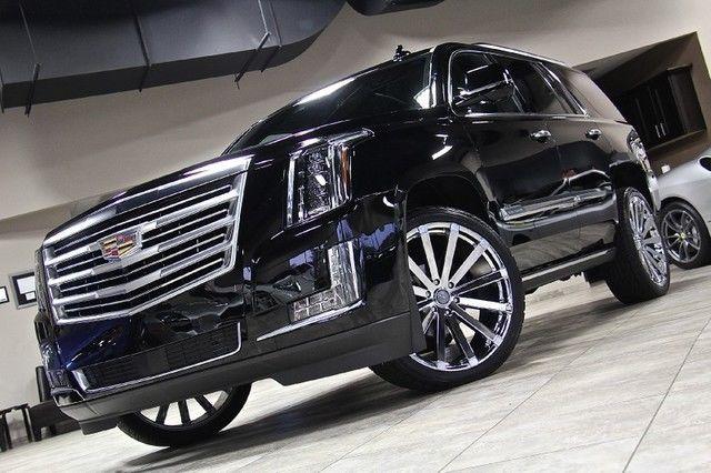 2015 Cadillac Escalade Platinum 4WD SUV 24 Chrome Velocity ...