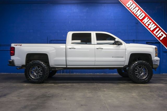 2015 Chevy Silverado Lifted >> 2015 Chevrolet Silverado 1500 4x4 5.3L V8 Lifted Crew Cab Long Bed Pickup Truck