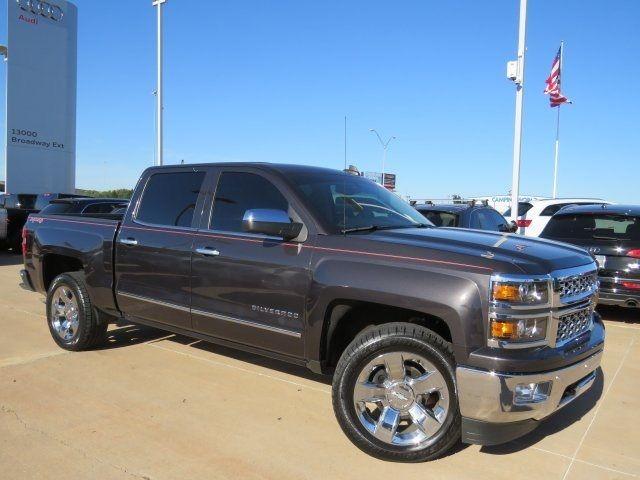 2015 Chevrolet Silverado 1500 Ltz 34317 Miles Brownstone