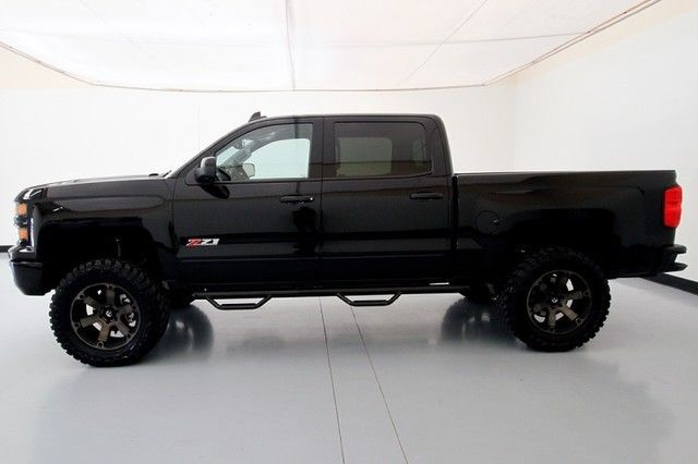 2015 chevrolet silverado 1500 ltz midnight edition custom lifted 4x4. Black Bedroom Furniture Sets. Home Design Ideas