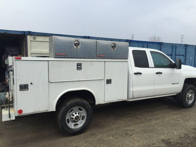2015 Chevrolet Silverado 2500HD Work Truck / Service Body ...