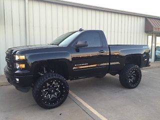 2015 chevy 1500 lt regular cab lifted tricked out. Black Bedroom Furniture Sets. Home Design Ideas