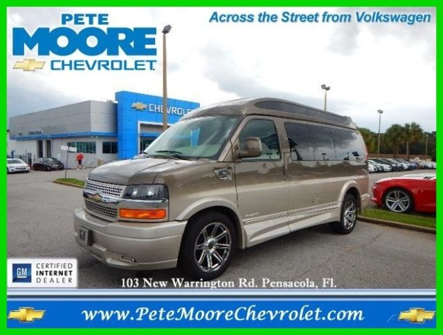 2015 Chevy Express 2500 Explorer Limited SE Hightop 7 Passenger Conversion Van
