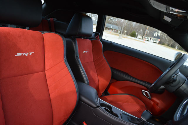 challenger dodge interior srt stripes