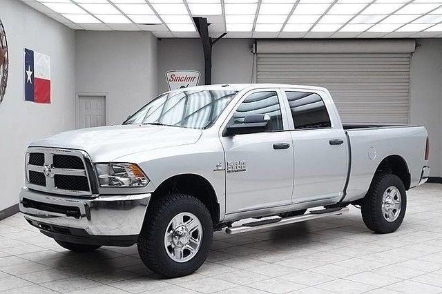2015 dodge ram 2500 diesel 4x4 tradesman crew cab rear camera texas truck - Dodge Ram 2500 2014 White
