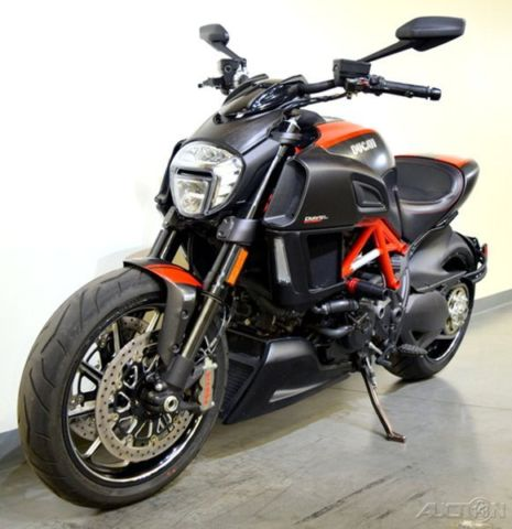 2015 Ducati Diavel Carbon Fast Musce Cruiser Fiber Custom 1198 Used