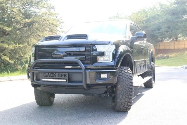 2015 F150 Black Ops Fully Loaded 6 Inch Lift National Shipping Available