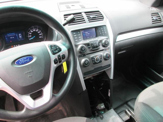 2015 Ford Explorer Awd Police Interceptor 1 Owner Black On