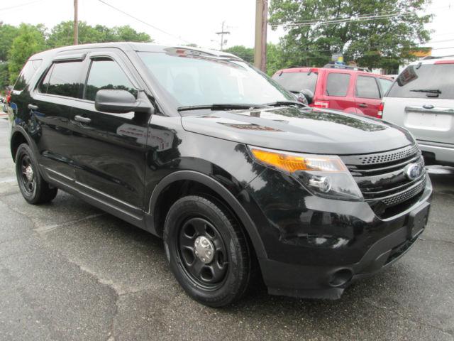 Ford Explorer Color Options >> 2015 Ford Explorer AWD Police Interceptor 1 Owner Black On Black All Wheel Drive
