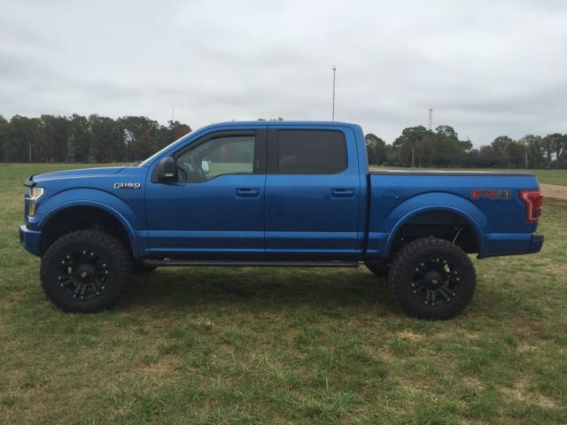 2015 ford f 150 fx4 sport lifted loaded 4x4 f150 crew cab lift offroad truck. Black Bedroom Furniture Sets. Home Design Ideas