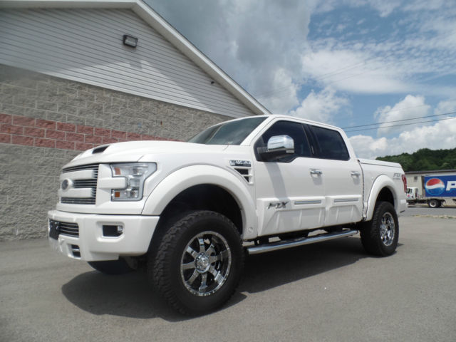 2015 Ford F 150 Lariat Crew Cab Tuscany Ftx All Terrain Conversion