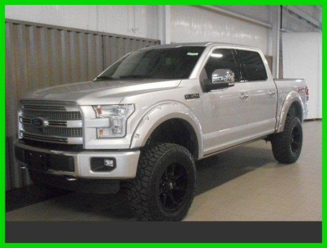 Ford F150 Platinum Lifted >> 2015 Ford F-150 Platinum 4x4 autonation 6 inch lift 20 inch wheels 5.0