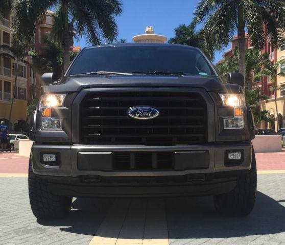 2015 Ford F 150 Xlt Crew Cab Pickup 4 Door 3 5l Ecoboost