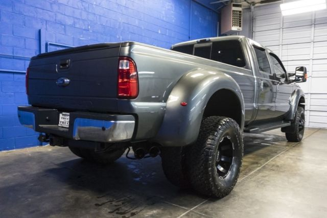 Used Ford F350 Dually Wheels >> 2015 Ford F-350 Lariat Dually 4x4 6.7L V8 Diesel Crew Cab Lifted Pickup Truck