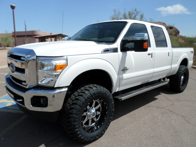 2015 Ford F250 Crew Cab Lariat Fx4 440hp Diesel Lifted