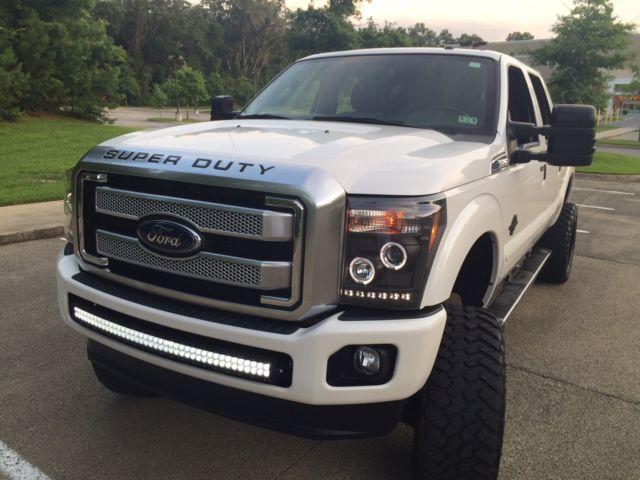 2015 ford f250 platinum 4x4 diesel f 250 f350 custom lifted sema lift lariat car. Black Bedroom Furniture Sets. Home Design Ideas