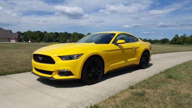 2015 Ford Mustang Ecoboost Premium Peformance Package Loaded And
