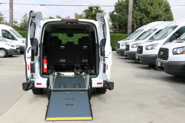 2015 Ford Transit Connect Wheelchair Van With Rear Entry
