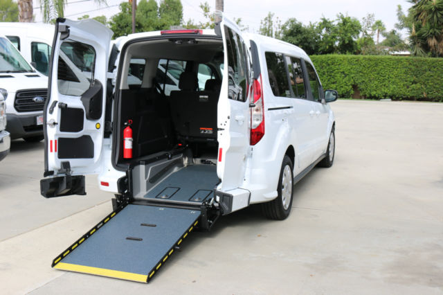 2d12bcbd90 2015 Ford Transit Connect XLT Wheelchair Van with Rear Entry Manual ...