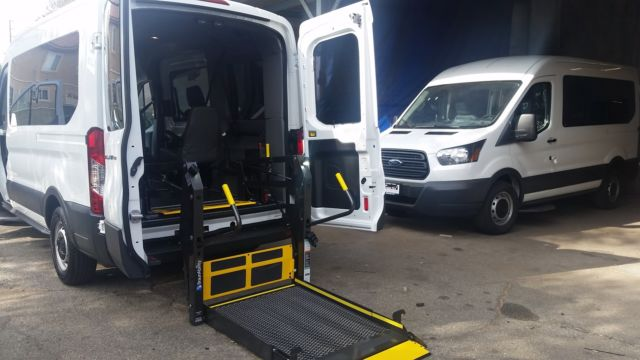 2015 Ford Transit Full Size Ada Wheelchair Mobility Van