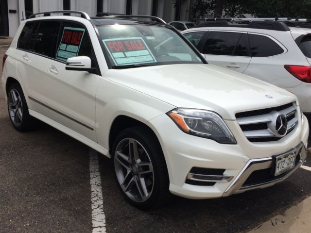 2015 Glk 350 W Amg Styling Kit 20k In Options 21k Miles Diamond White Color