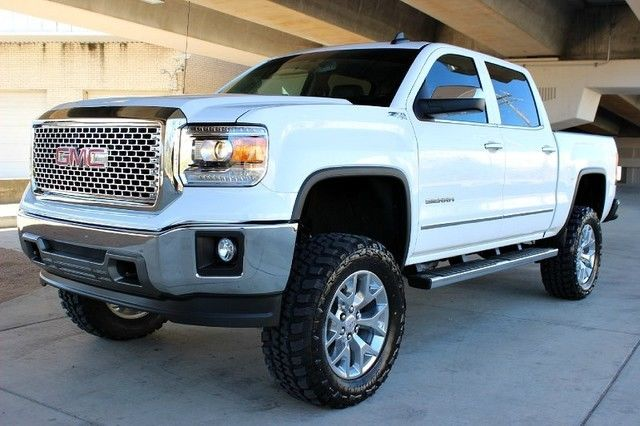 2015 Silverado Texas Edition >> 2015 GMC 1500 SLT 7.5 ROUGH COUNTRY LIFT 35 TIRES LEATHER 1 OWNER CARFAX