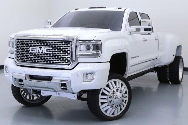 2015 gmc 3500hd denali drw custom lift kit american force diesel summit white. Black Bedroom Furniture Sets. Home Design Ideas