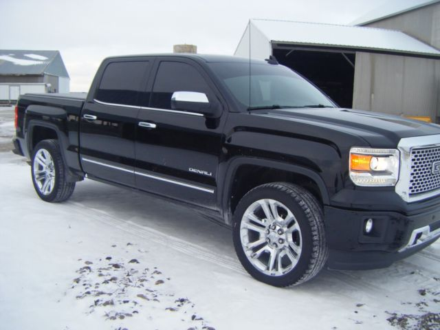 2015 gmc sierra 1500 denali low miles 22in wheels clean. Black Bedroom Furniture Sets. Home Design Ideas