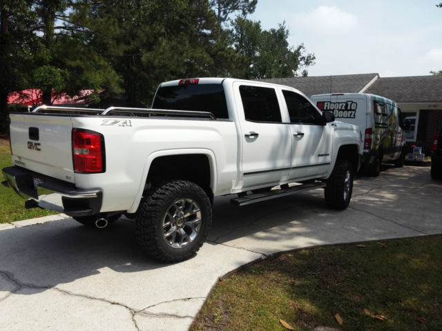 2015 gmc sierra 1500 slt crew cab pickup 4 door 5 3l with 7 inch lift. Black Bedroom Furniture Sets. Home Design Ideas