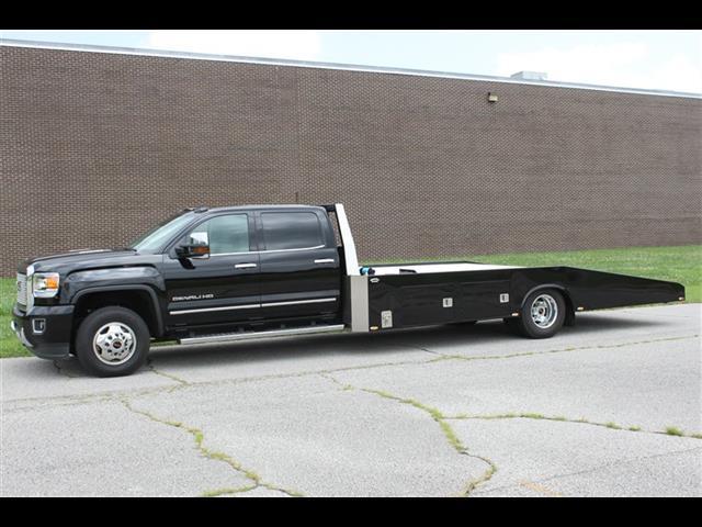 2015 gmc sierra 3500 denali hodges custom hauler one owner low miles. Black Bedroom Furniture Sets. Home Design Ideas