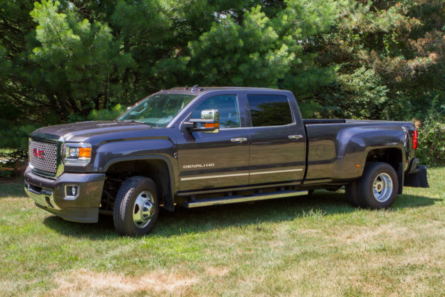 2015 Gmc Sierra Denali 3500 Hd Dualie Long Box Crew Cab