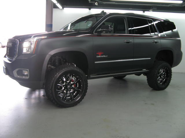 2015 GMC Yukon Denali 4WD SCA Performance Black Widow ...