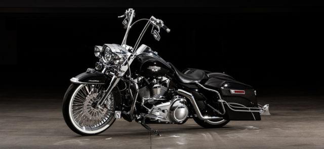 Harley Davidson Road King Stereo