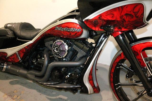 Custom Paint Job For Motorcycle In Nd